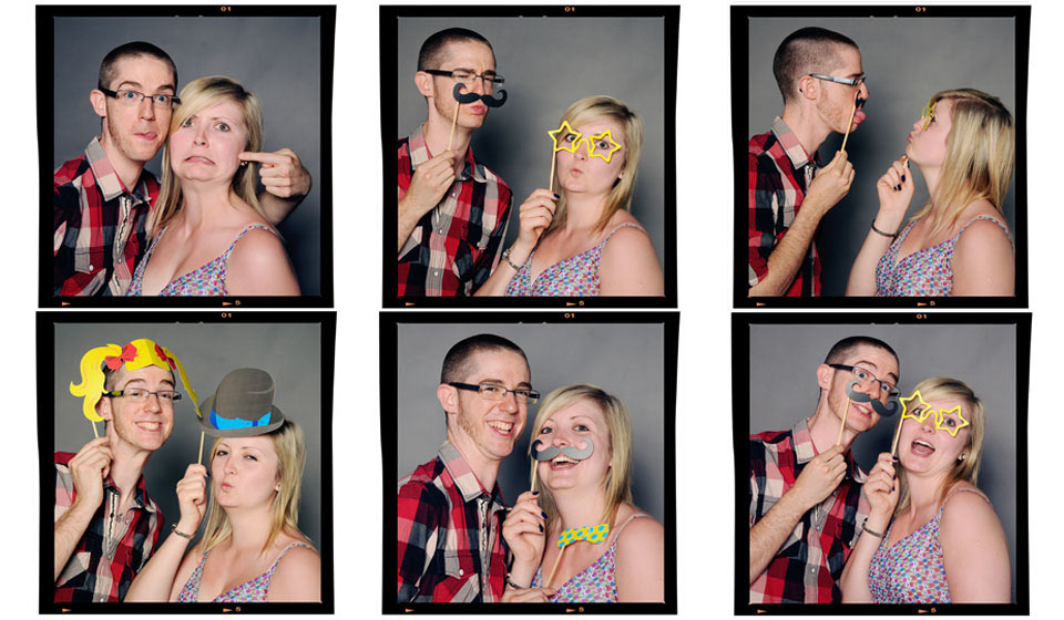 Fun couples portrait by Emotion Studios