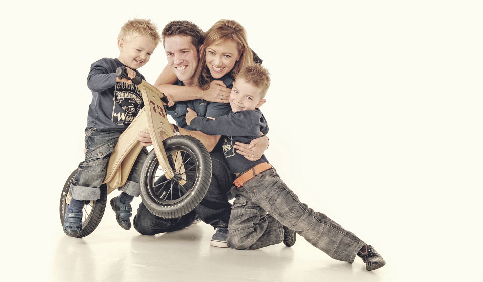 Modern Family portrait photograph by Emotion Studios
